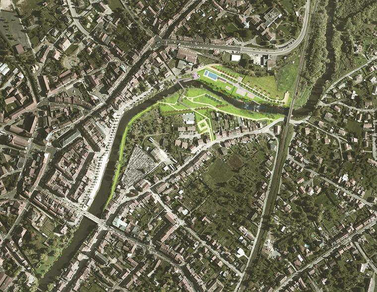 法国默尔特河岸景观设计_24