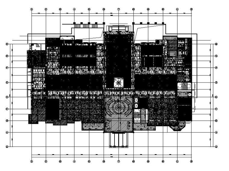 [成都]豪华高档休闲会所设计施工图(含效果图)
