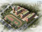 [福建]五层现代风格红砖外墙18班小学建筑设计方案文本
