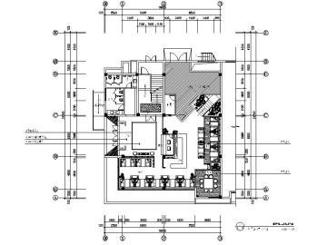 [苏州]新古典华贵典雅茶楼室内设计施工图(含效果图)