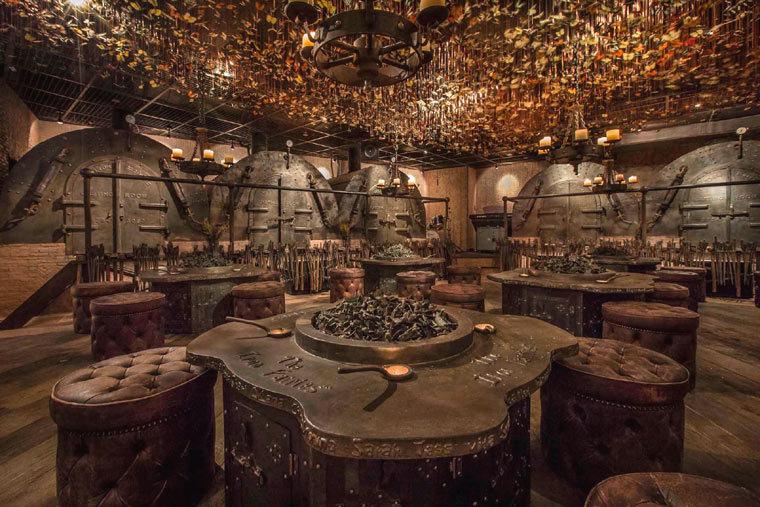 矿洞创意概念——香港TheIronFairies酒吧-2