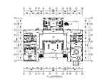 中式风格整套别墅设计CAD施工图(含效果图)