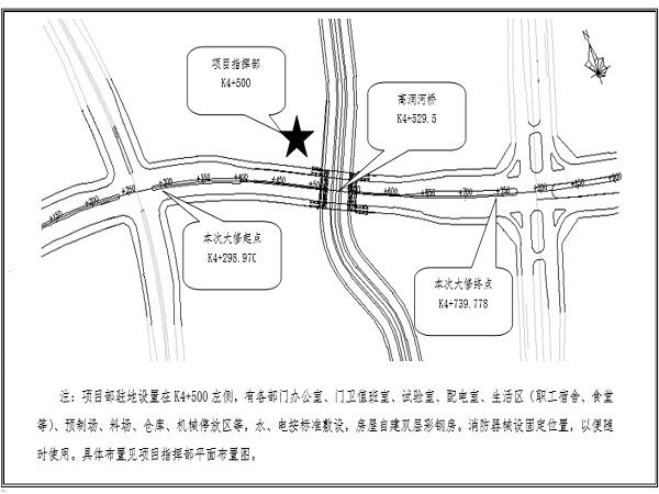 机场东联络线北线东延伸段道路工程施工组织设计