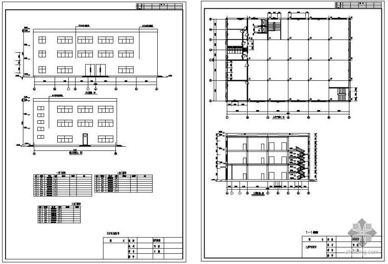 [学士]哈尔滨市阿城区某三层小型商场毕业设计(含计算书、建筑结构设计图)