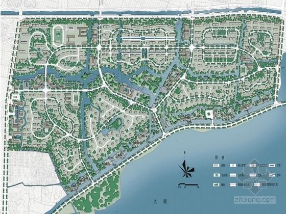 [苏州]滨湖自然生态精品居住区景观设计方案