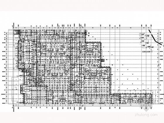 [广东]高档住宅小区给排水施工图纸(太阳能系统 联排叠拼)