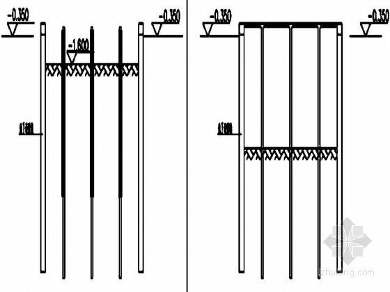 [广东]商住楼基坑盖挖法施工及地下连续墙施工方案