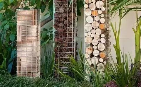 景观石笼|独特的植物容器_5