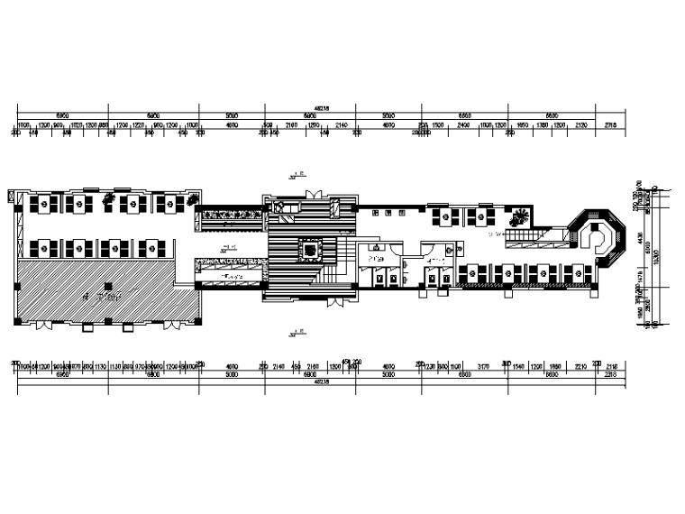 整套川味火锅店设计CAD施工图