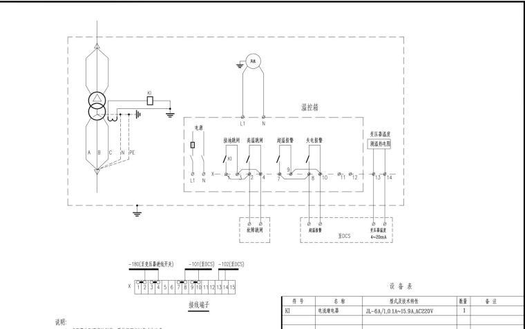 某大电厂SCR脱硝电气全套施工图_4