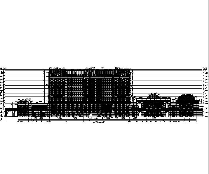 [福建]高层度假酒店及海鲜餐厅建筑施工图(16年最新含结构专业)