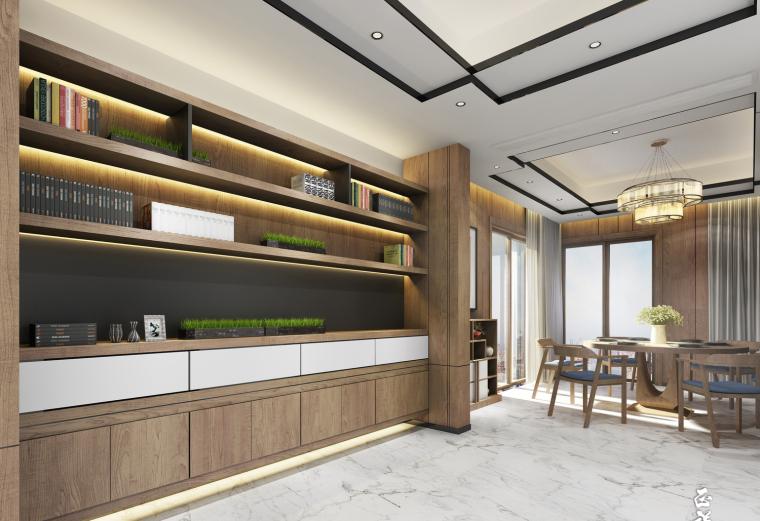 郑州瀚海晴宇刘先生住宅设计图