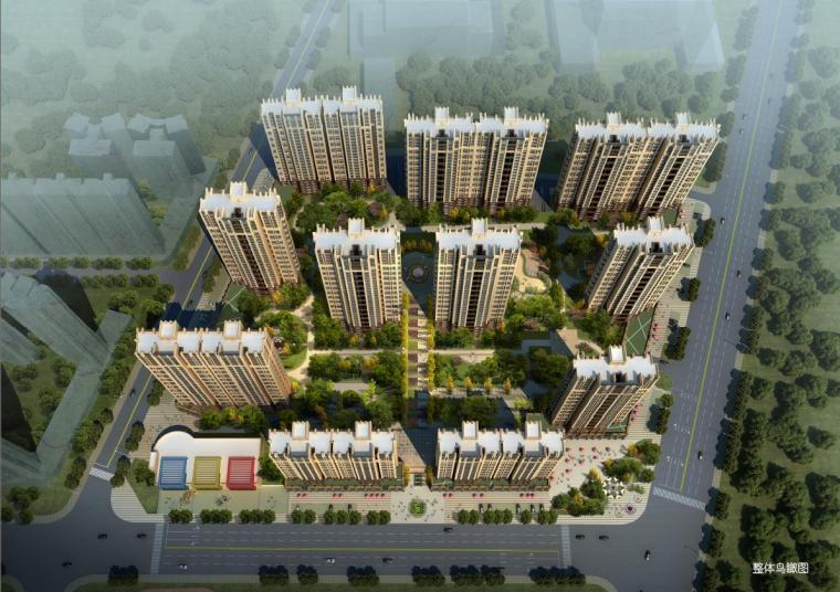 [江西]高层现代ARTDECO风格塔式住宅楼建筑设计方案文本