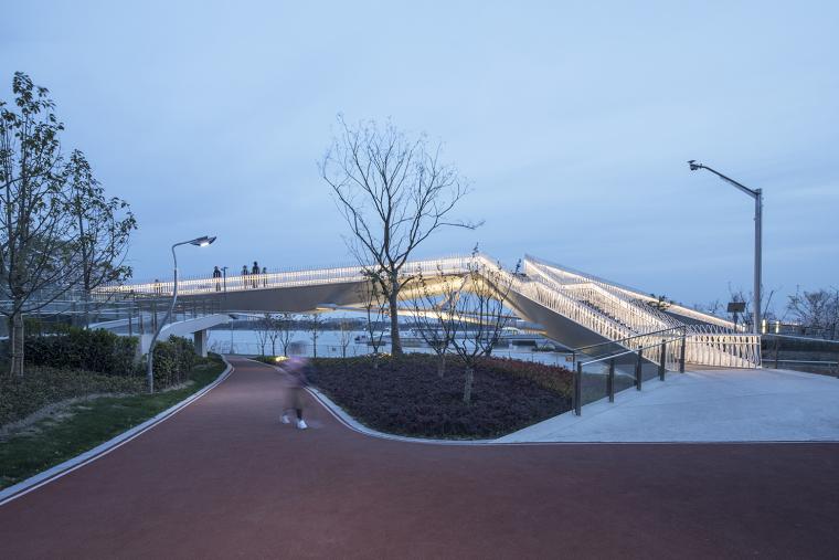 上海日晖港步行桥-9