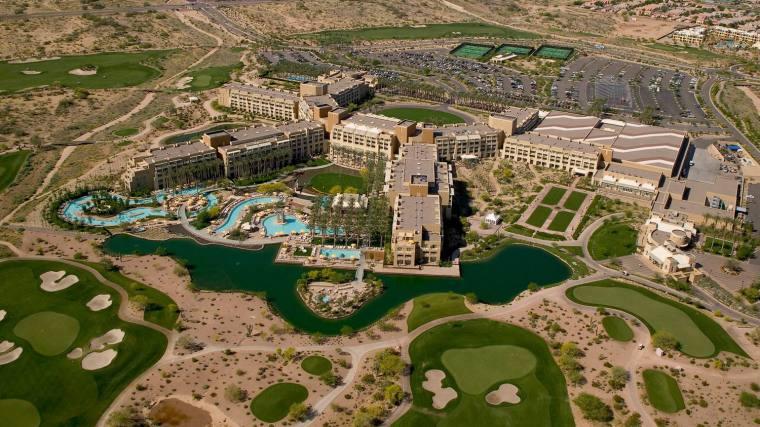 美国沙漠主题体育酒店-2