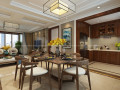 济南领秀城中央公园东区174平现代风格装修案例一济南万泰装饰