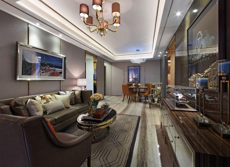 现代港式风格的住宅