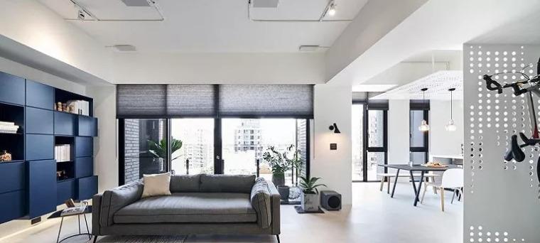 140㎡现代简约风,舒服自在的家就该这样!_6