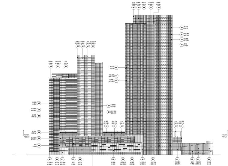 [上海]浦东嘉里中心城市综合体施工图文本(PDF)