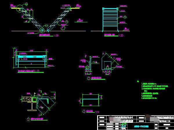 铁路区间预应力简支箱梁连续箱梁桥施工图初步设计336张(知名大院)