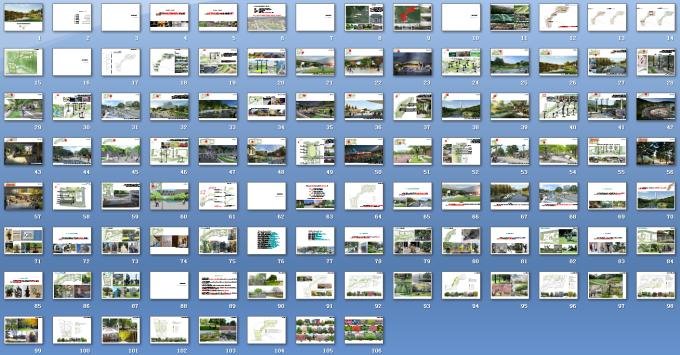 [浙江]流动地景自然生态大学校园景观规划设计全套图纸(方案+CAD施工图+PDF施工图+实景图)-方案文本总缩略图