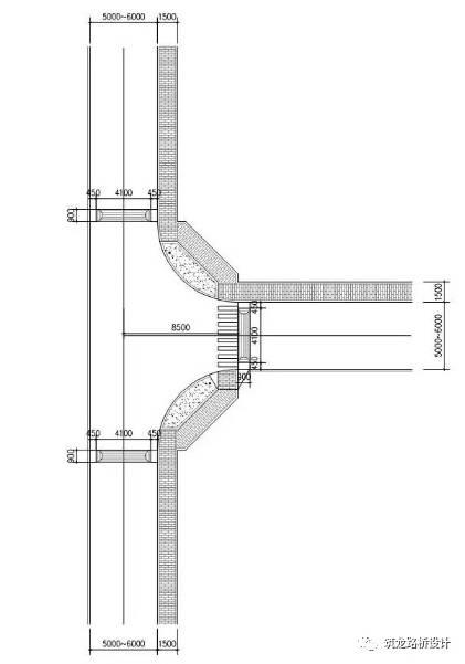 万科住宅内的道路设计,标准和施工做法,都是经验呀!!_24