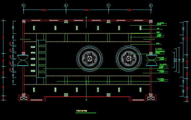 300多套CAD装修施工图纸(家装,工装,节点等)_17