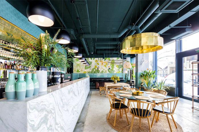 清风微拂—视觉与味觉的诗意融合(附25套餐饮空间设计案例)