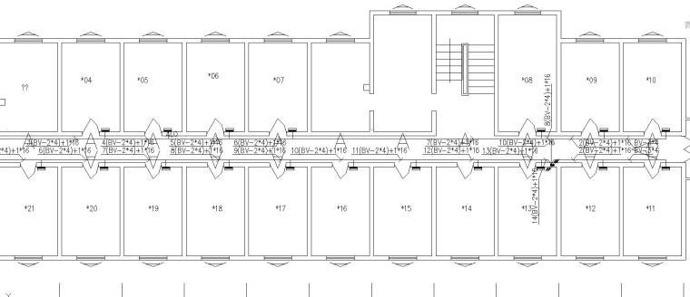 某公寓楼电气改造工程图3