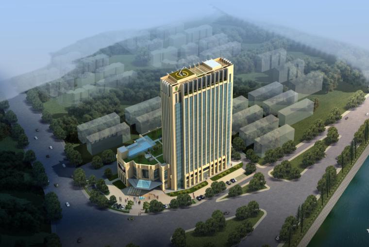 [合集]五套五星级酒店建筑方案文本(新中式及现代设计)_10
