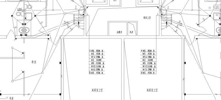 高层住宅电气施工图