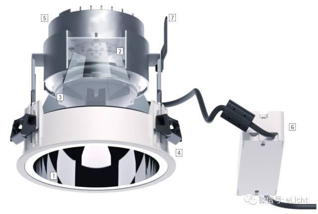 筒射灯的种类的使用方法