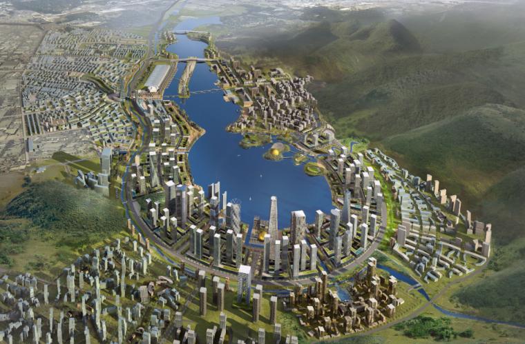 梅西湖总体规划设计全套方案文本中文版