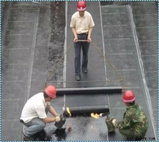 屋面SBS卷材防水详细施工工艺图解及细部做法_20