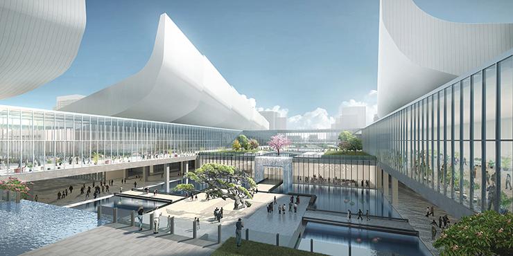 全国7大会展中心设计合集(实景图+效果图)-25