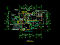 两层独立豪华别墅CAD施工平面图