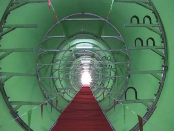 """世界首条竹缠绕城市综合管廊铺设成功 """"竹缠绕""""技术令日本疯狂"""