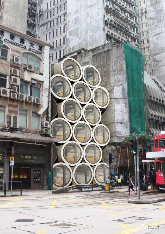 为了香港穷人不再蜗居,他们用水泥管做成了公寓_23