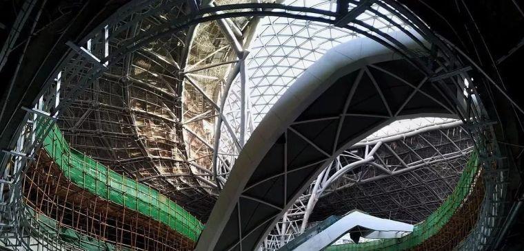 北京新机场地下:塞进了五条轨道线相当于一个北京站_12