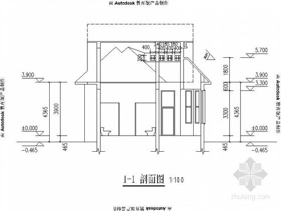 [合集]20套建筑小品——公厕建筑施工图及方案文本_10
