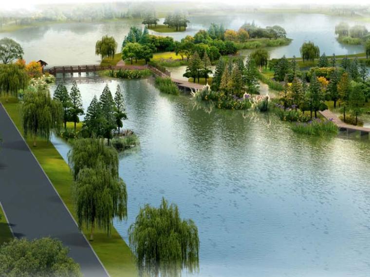 [江苏]三角嘴国家湿地公园景观设计方案(PDF+59页)
