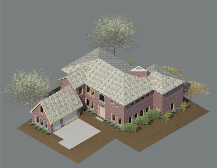 BIM模型-revit模型-独栋别墅住宅