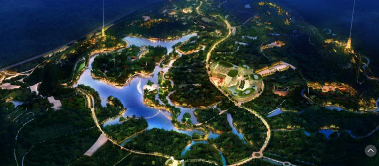 [江西]红豆杉生态风情小镇(度假,休闲)A-2 夜景