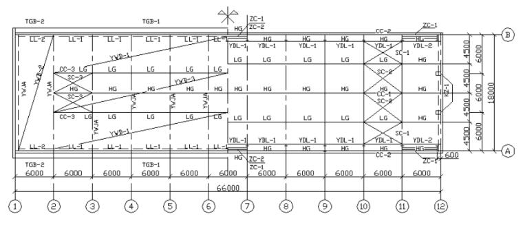 Iscar工业刀具制资料下载-单层工业厂房排架结构设计计算书(PDF,26页)