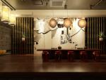 现代中式茶室3D模型下载