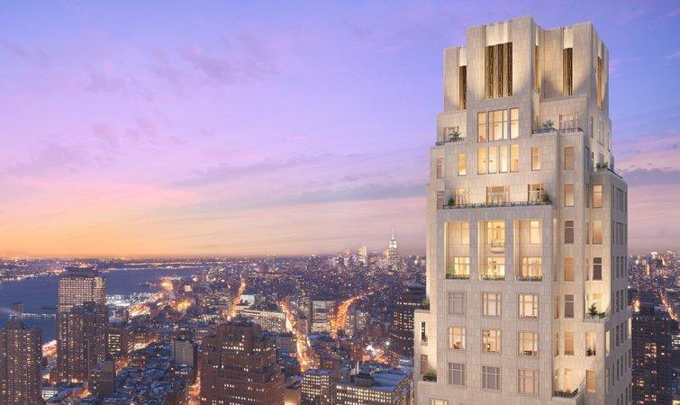 纽约市中心的四季酒店和公寓,虽是豪华定位但没啥压迫感