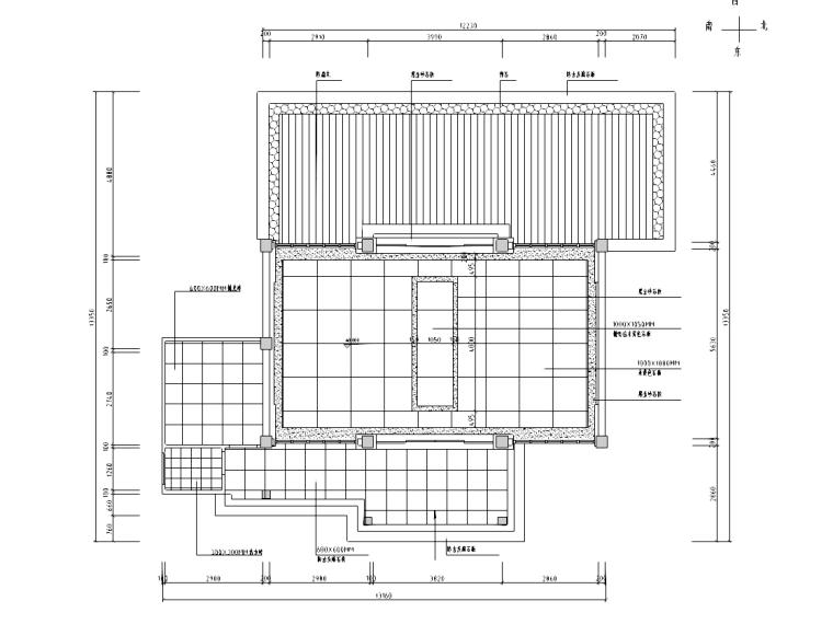 [北京]某私人接待餐厅室内装修施工图(含效果图)