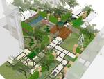 庭院景观设计模型
