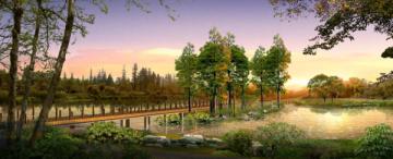 [江苏]生态农庄湿地公园景观设计方案(附部分施工图+实景图)