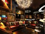 华丽酒吧3D模型下载